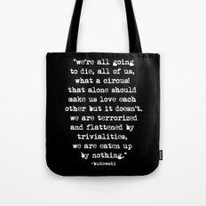 Charles Bukowski Typewri… Tote Bag