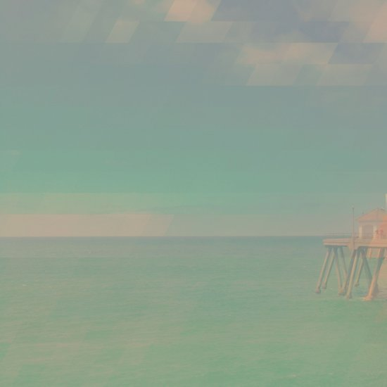 The California Summer Series // Pier Art Print