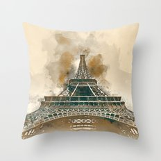 Paris II Throw Pillow
