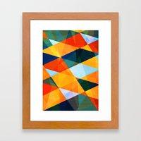 A warm november Framed Art Print