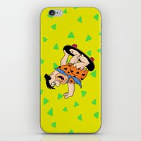 Shred Flintstone iPhone & iPod Skin