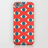 iPhone & iPod Case featuring The Eyes Have It by KOMBOH