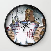 Lady And The Tramp Wall Clock