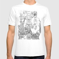 Rope Mens Fitted Tee White SMALL