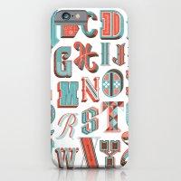 Alphabet Poster iPhone 6 Slim Case