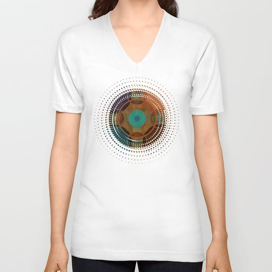 Textures/Abstract 97 V-neck T-shirt