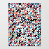 Quilted Patchwork Canvas Print