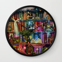 Whimsy Trove - Treasure Hunt Wall Clock