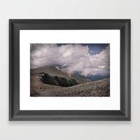 Bend Framed Art Print