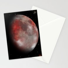 Red moon Stationery Cards