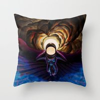 Space Evermore Throw Pillow