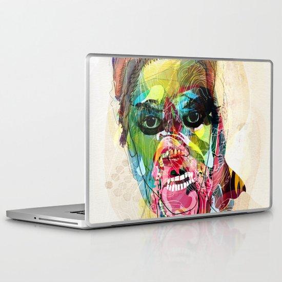 The human beast Laptop & iPad Skin