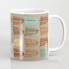 Pods and Seeds 2 on Linen Mug