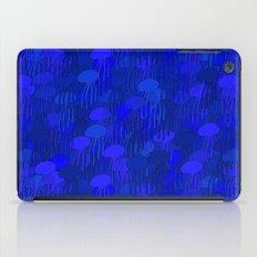 Jellyfish Blue iPad Case