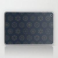 Geocircles (Blue II) Laptop & iPad Skin