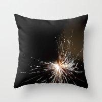 Fireworks1 Throw Pillow