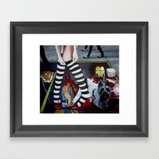 THE WIZARD OF OZ Framed Art Print