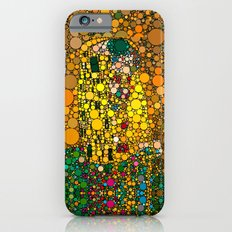 If Klimt The Kiss was painted with bubbles  iPhone 6 Slim Case