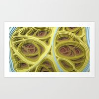 Art Print featuring Untitled Movement #1 by Charles Clary