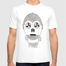 Celtic C3Po Mens Fitted Tee White SMALL