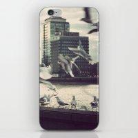 Pigeon Whisper    iPhone & iPod Skin