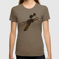 Hope Womens Fitted Tee Tri-Coffee SMALL