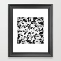 Amped (monochrome Series… Framed Art Print