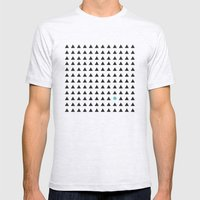 Minimalism 1 Mens Fitted Tee Ash Grey SMALL