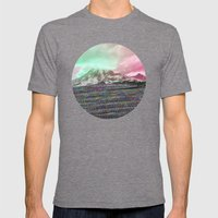 Mount Wisdom [cropped] Mens Fitted Tee Tri-Grey SMALL