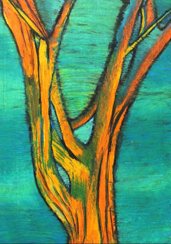 A Tree I drew Art Print
