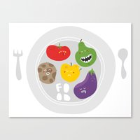 Healthy Food. Canvas Print