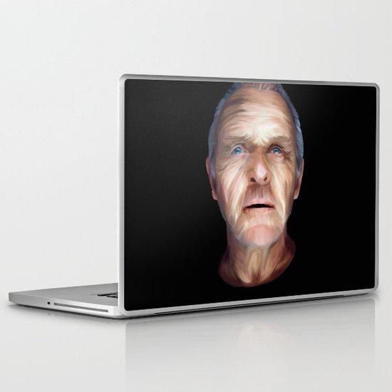 Anthony Hopkins Laptop & iPad Skin