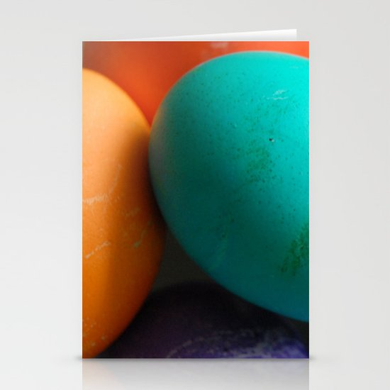 Dyed Eggs Stationery Card