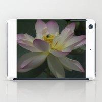 Lotus flower 3 iPad Case