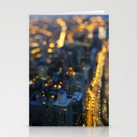 City Nights #1 Stationery Cards