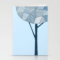 Winter Tree Stationery Cards