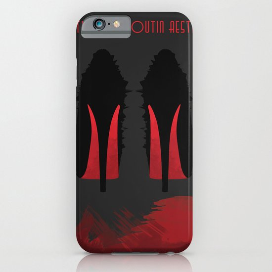Christian Louboutin Aesthetic iPhone & iPod Case