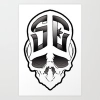 Soul Expressions logo Art Print