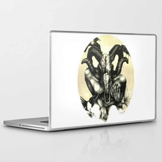 The Ram and the Crows Laptop & iPad Skin