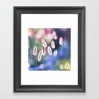 LET THERE BE COLOR Framed Art Print
