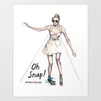 Oh Snap! Art Print