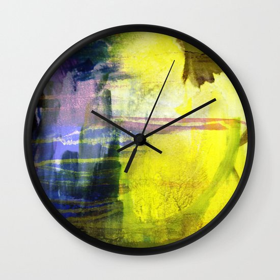Melted In Wall Clock