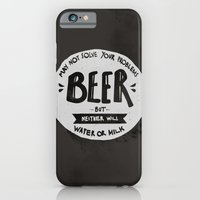 iPhone & iPod Case featuring Beer by Juliana Rojas   Puchu
