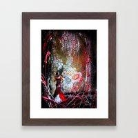 eveningstar  Framed Art Print