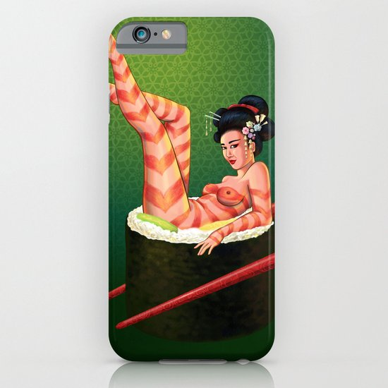 Sushi Girl iPhone & iPod Case