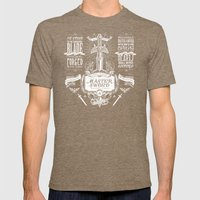 Legend Of Zelda Vintage … Mens Fitted Tee Tri-Coffee SMALL