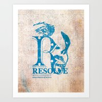 Resolve - On A Course Of… Art Print