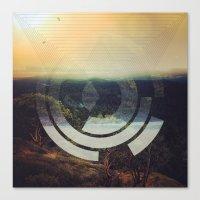 Flipped Horizon Canvas Print