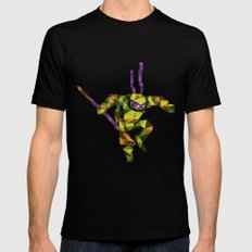 Bo Staff Turtle Black Mens Fitted Tee SMALL