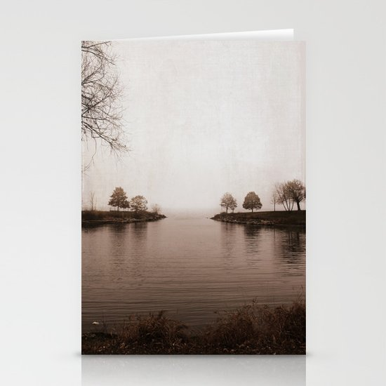 Winter's Breath is Here Stationery Card